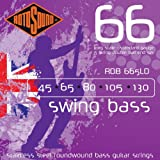Rotosound RDB665LD Swing Bass 66 Stainless Steel Double Ball End 5 String Bass Guitar Strings