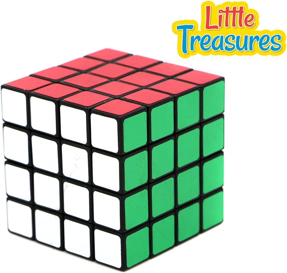 Little Treasure 4x4x4 Easy Rotating Thinking Puzzle Cube