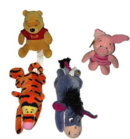 Astounding Winnie The Pooh Bean Bag Set Of 4 New Pooh New Piglet New Tigger And New Eeyore By Disney Interactive Studios Ncnpc Chair Design For Home Ncnpcorg