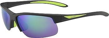Bolle Breaker Polarized Semi-Rimless Sunglasses with Flash Lens