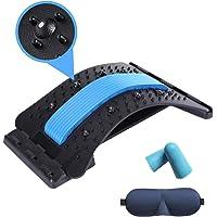 Extensor de columna vertebral, alineador de columna vertebral de múltiples capas con acupuntos magnéticos, dispositivo…