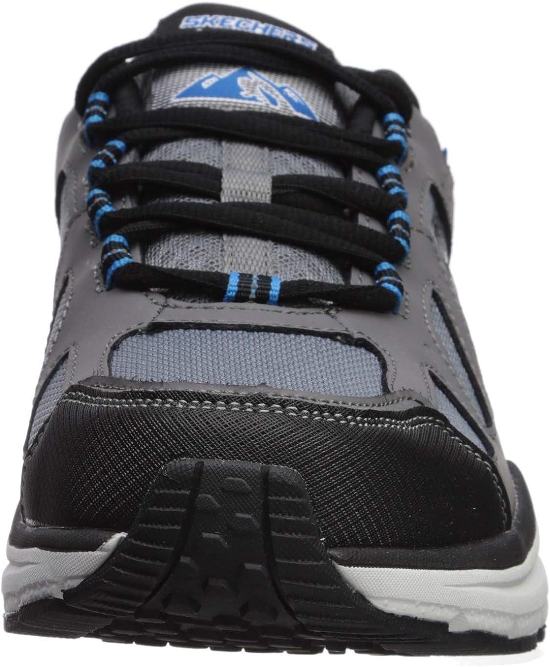 Skechers mens 51703 Escape Plan 2.0 Mueldor Charcoal Black