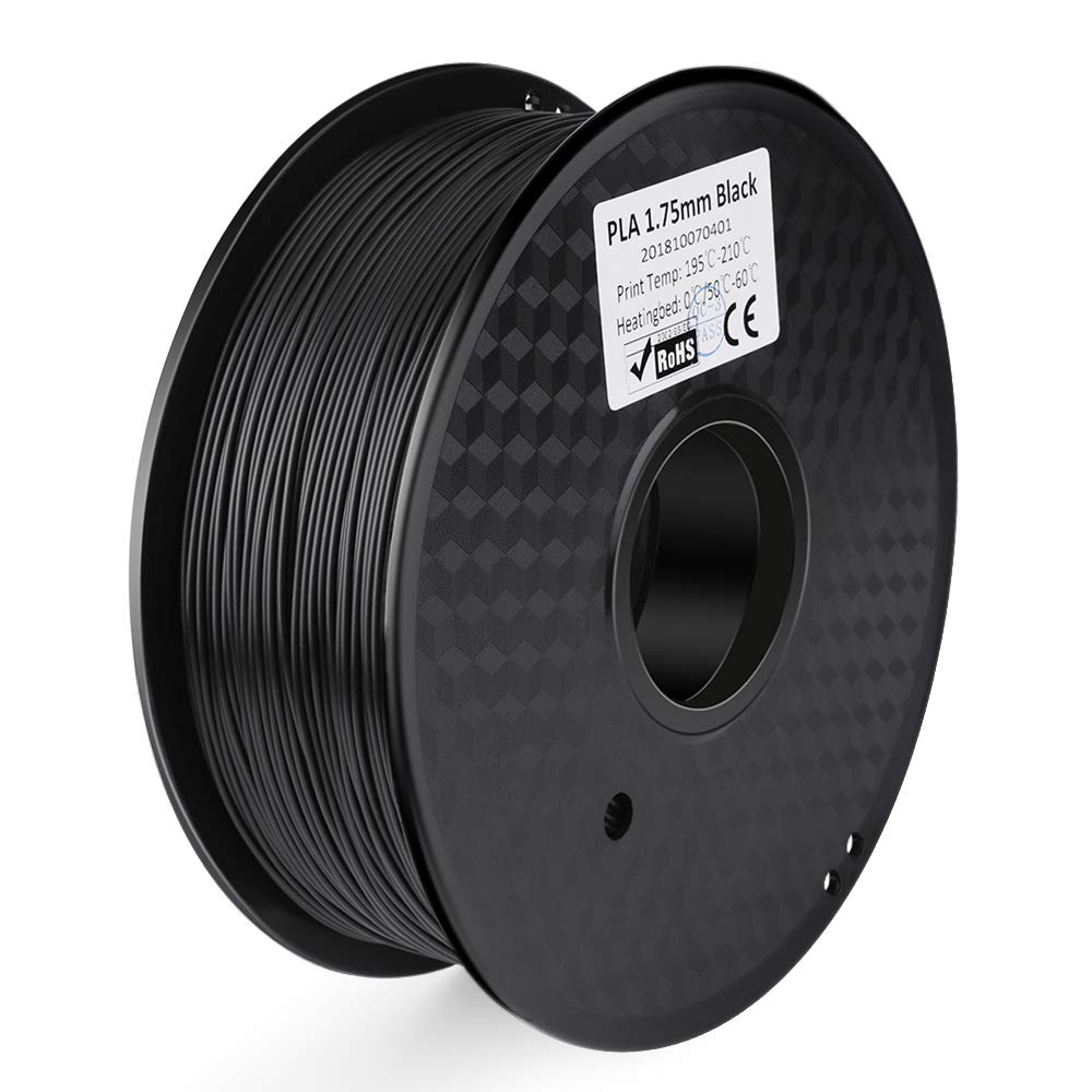 ELEGOO Filamento per Stampante 3D PLA, Precisione dimensionale +/- 0,03 mm, Bobina da 1 kg, 1,75 mm, Bianco