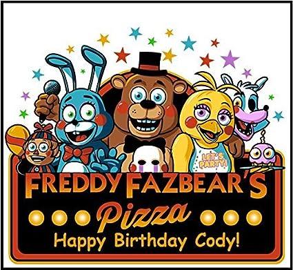 Amazon.com: 12 Five Nights at Freddy s personalizada ...