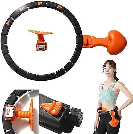 Auto-Spinning Hula Hoop Inteligente de conteo Desmontable Aros de ...