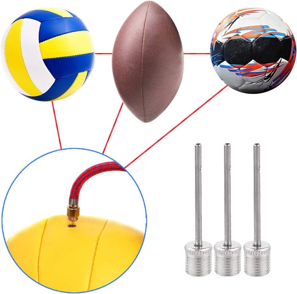 chudian 60 St/ück Ballpumpe Nadeln f/ür Basketball Baseball Fu/ßball Volleyball Luftpumpe Aufblasen Nadeln aus Edelstahl 7mm