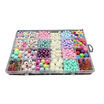 Main La Enfants Pour À Bricolage Jouet Hilai Colorées Perles b6yf7Yg