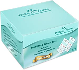 15 Pack Easy@Home 5 Panel Instant Urine Test - THC,COC,OPI 2000,BZO,AMP - #EDOAP-754