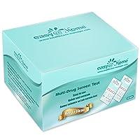 15 Pack Easy@Home 10 Panel Instant Drug Test Kits - Testing Marijuana (THC), Opiate(OPI 2000), Cocaine(COC), AMP, BAR, BZO, MDMA, MET, MTD, PCP - Urine Dip Drug Testing -#EDOAP-3104