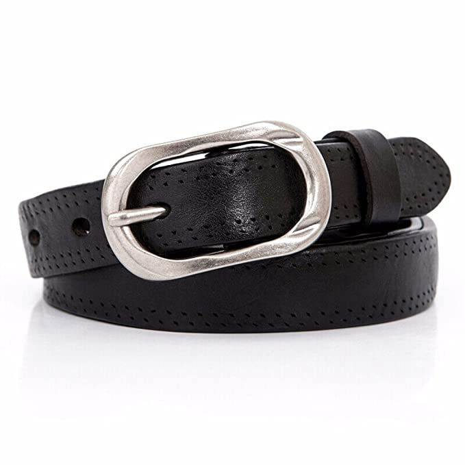 58023ccb45 Amazon.com  Women s leisure personalized leather waist Belt