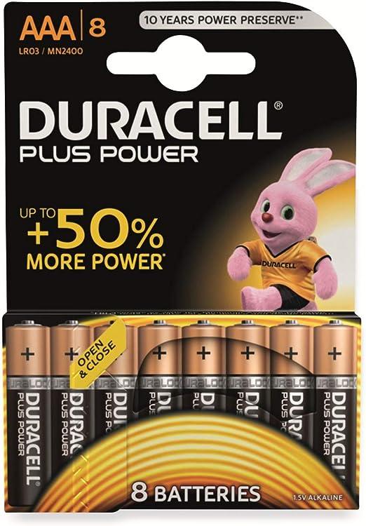 Duracell Plus Type Aaa Alkaline Batteries Pack Of 8 Elektronik