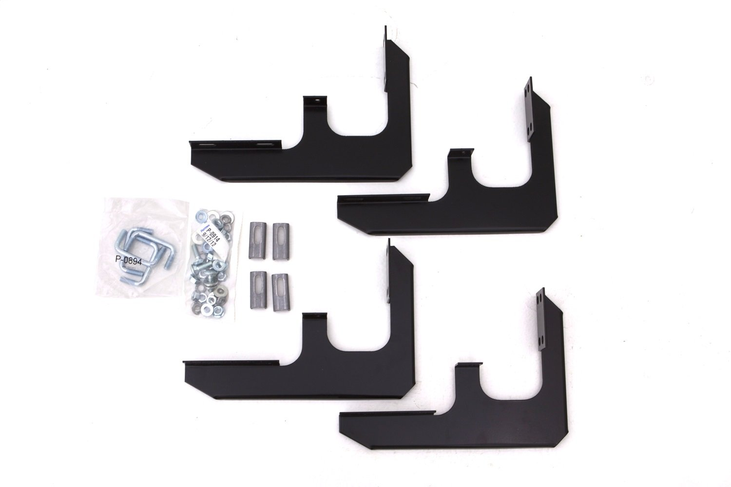 Lund 318023 Tube Step Running Board Brackets for 2015-2018 Chevrolet Colorado /& GMC Canyon Extended Cab Use w//70 Boards