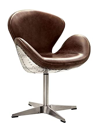 Superb Amazon Com Acme Furniture 96553 Brancaster Swivel Chair Ocoug Best Dining Table And Chair Ideas Images Ocougorg