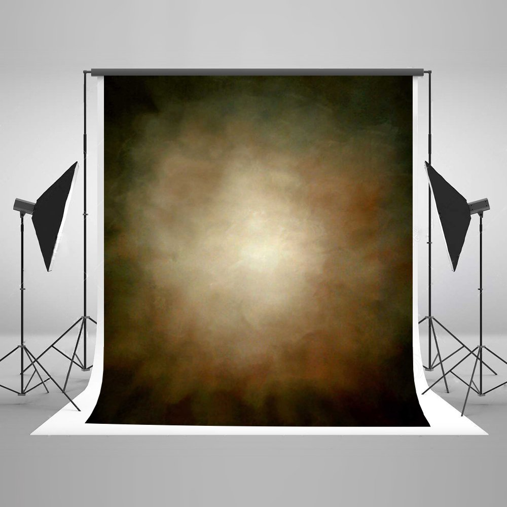 Kate 10ft(W) x10ft(H) Abstract Photography Backdrops Microfiber Brown Portrait Photography Studio Background by Kate