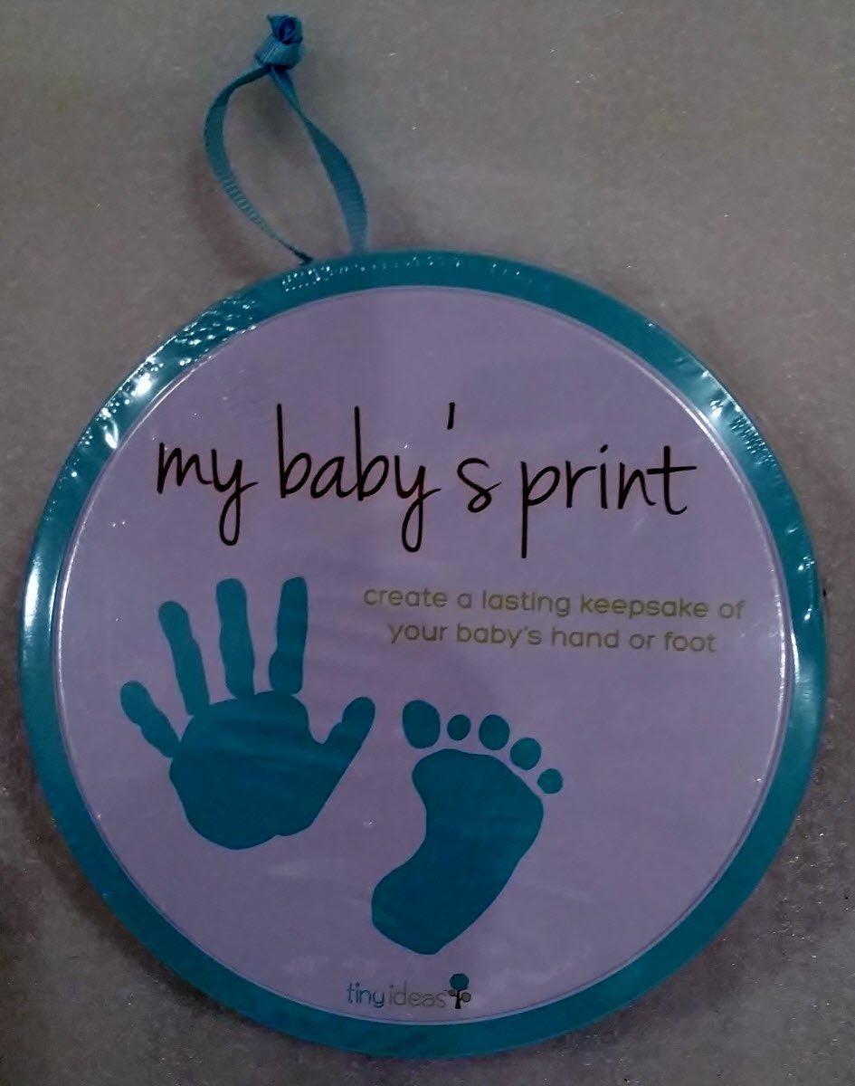 Tiny Ideas My Baby's Print Hand or Foot Print by Tiny Ideas   B00U6TYGHI