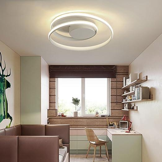 LeohomePlafonnier plafoniere rotondo a led per soggiorno cucina ...