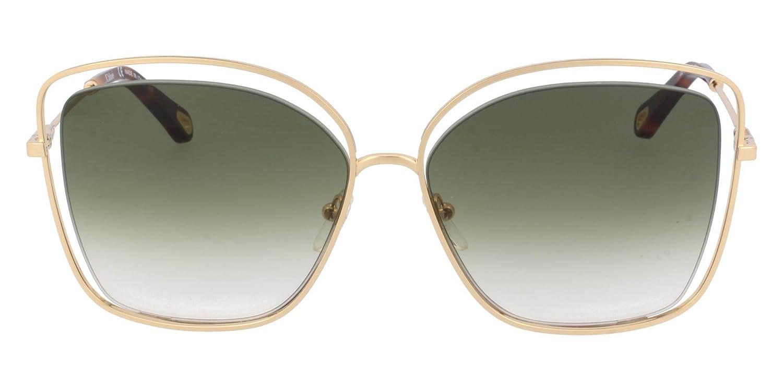 Chlo/è Ce133S 733 60 Montures de lunettes Gold//Green Femme Or