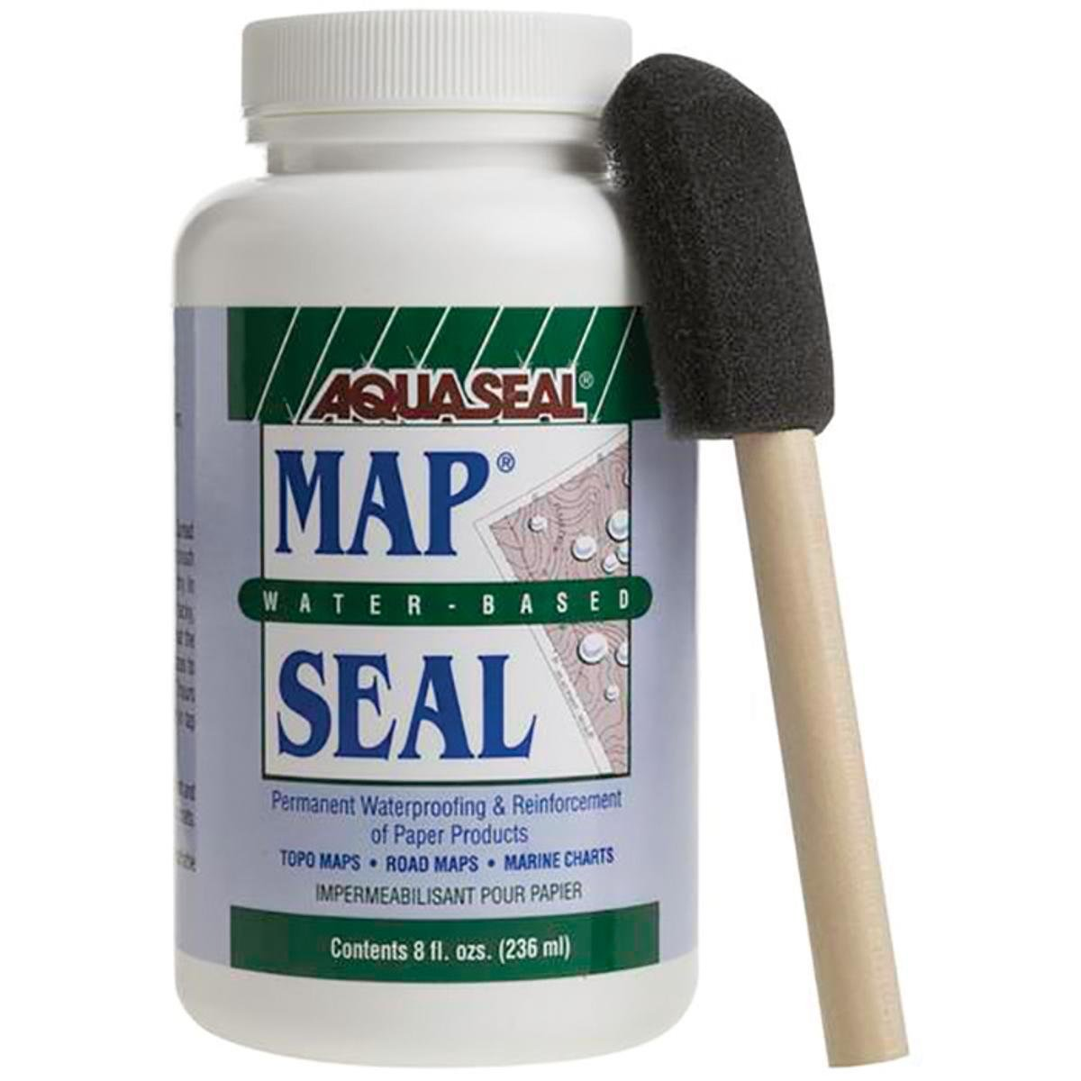 Aquaseal 370200 8 oz Map Seal Waterproofing for Maps