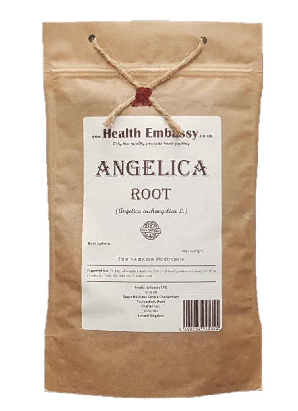 Angelica Root (Angelica archangelica L. - Radix Archangelicae) - Health Embassy - 100% Natural (50g)