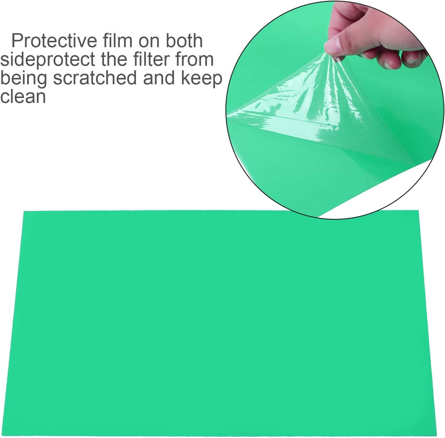 Blue 10 Pack Gel Filter Transparency Color Film Plastic Sheets Colored Overlays Correction Gels Light Filter Flash Lighting Holiday Decorations,11.7 by 8.3 Inches