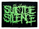 SUICIDE SILENCE Deathcore Metal Band Logo t Shirt MS19 Patches