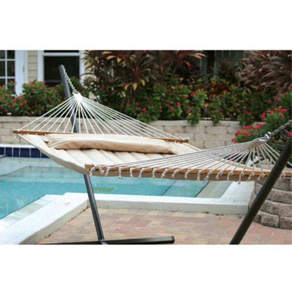 Amazon.com : Smart Garden 52325 DTP Monte Carlo Premium Poly Double Hammock  : Garden U0026 Outdoor