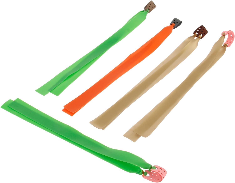 5PC elastische Gummibänder für Outdoor Schleuder Katapult Jagd Gummiband Zwille