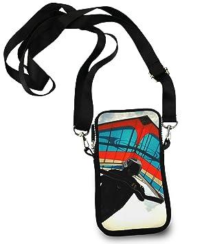 ESTLISS - Monedero para teléfono móvil, diseño con Texto en ...