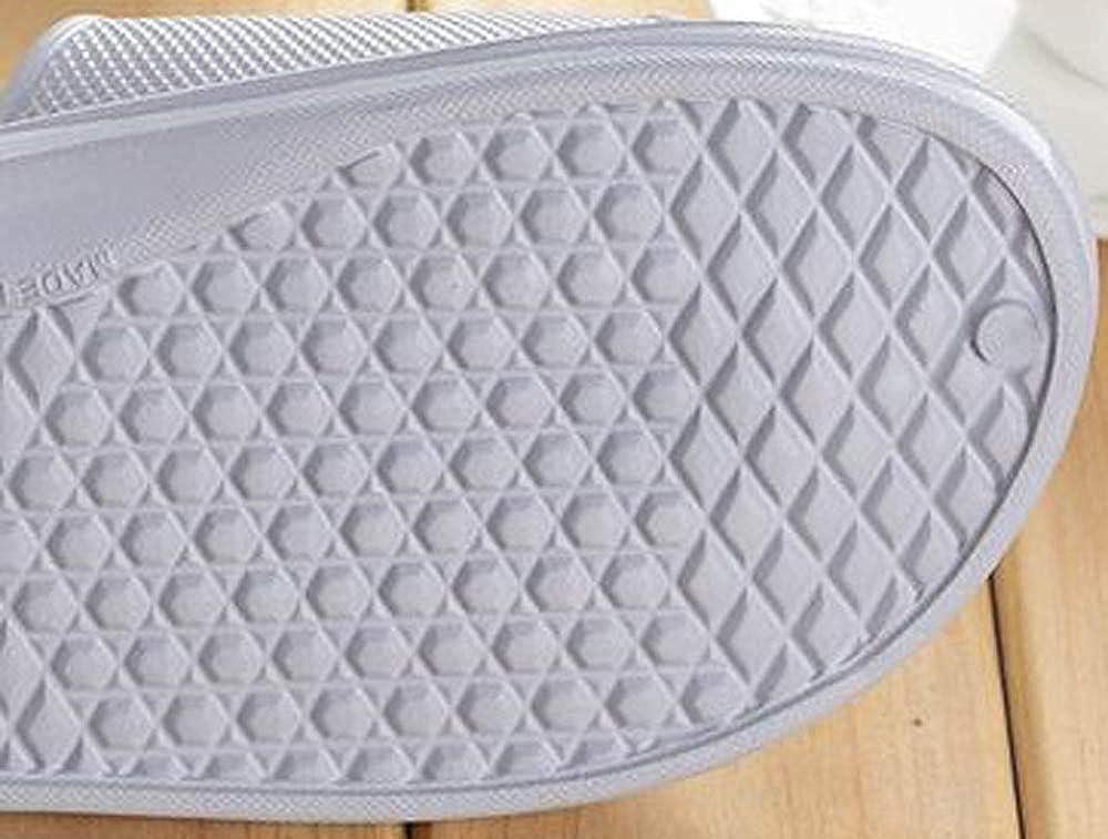 Evachaussures pour Hommes Pantoufles De Bain Plates Sandales Pantoufles DInt/érieur Et DExt/érieur Casual Hommes Tongues Antid/érapantes Chaussures De Plage Mat/ériel
