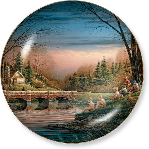 Spring Fishing Collector Plate by Terry Redlin