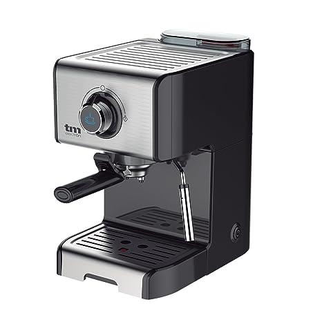 Tm Electron TMPCF101 Cafetera Espresso Manual con 15 Bares de Presión Acero Inoxidable