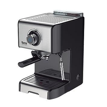 TM Electron TMPCF101 cafetera Espresso Manual con 15 Bares de presión, 1200W en Acero Inoxidable: Amazon.es: Hogar