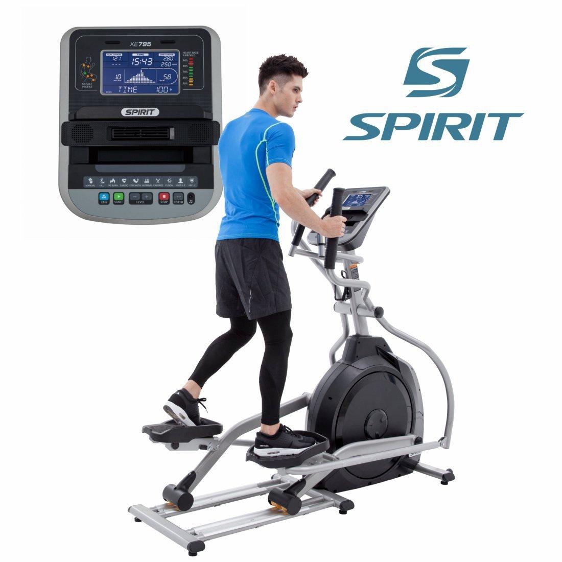 Spirit Profi Ellipsentrainer XE 795 Crosstrainer Heimtrainer Fitness Ergometer