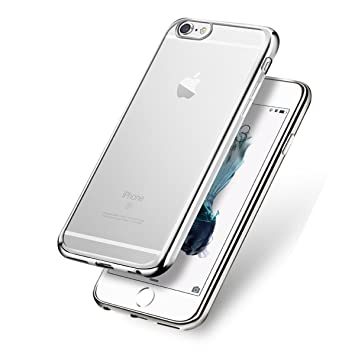 coque iphone 6 argenté
