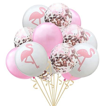 Doitsa - Lote de 15 Globos de Confeti para cumpleaños o Boda ...