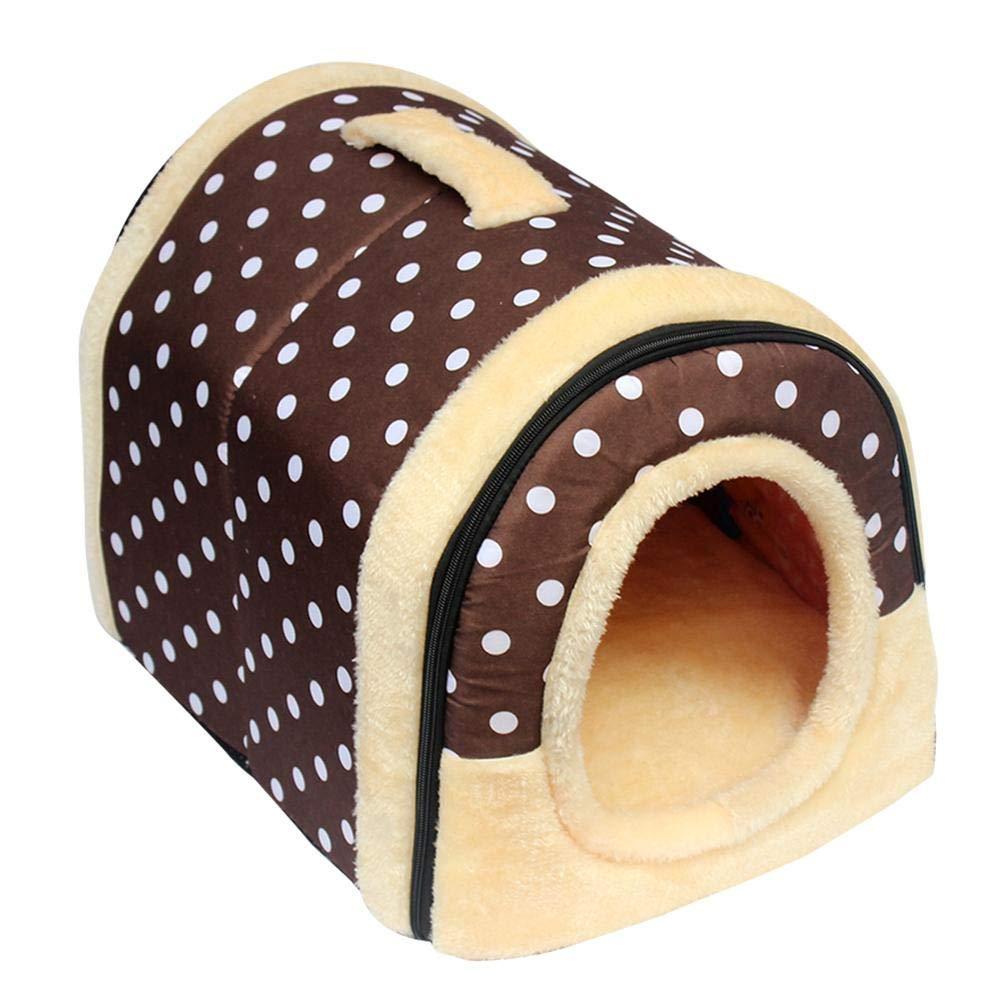 H-sunshy-Haustierhaus-Katzen Haustiernest Hund Hund Hund Haustierbett,abnehmbare waschbar Faltbare 3 Größen. B07M5DN8XX     | Beliebte Empfehlung  1f3da3