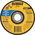 DEWALT DW8062S Cfree Thin Cutoff Wheel, 4-1/2-Inch x .045 x 7/8-Inch