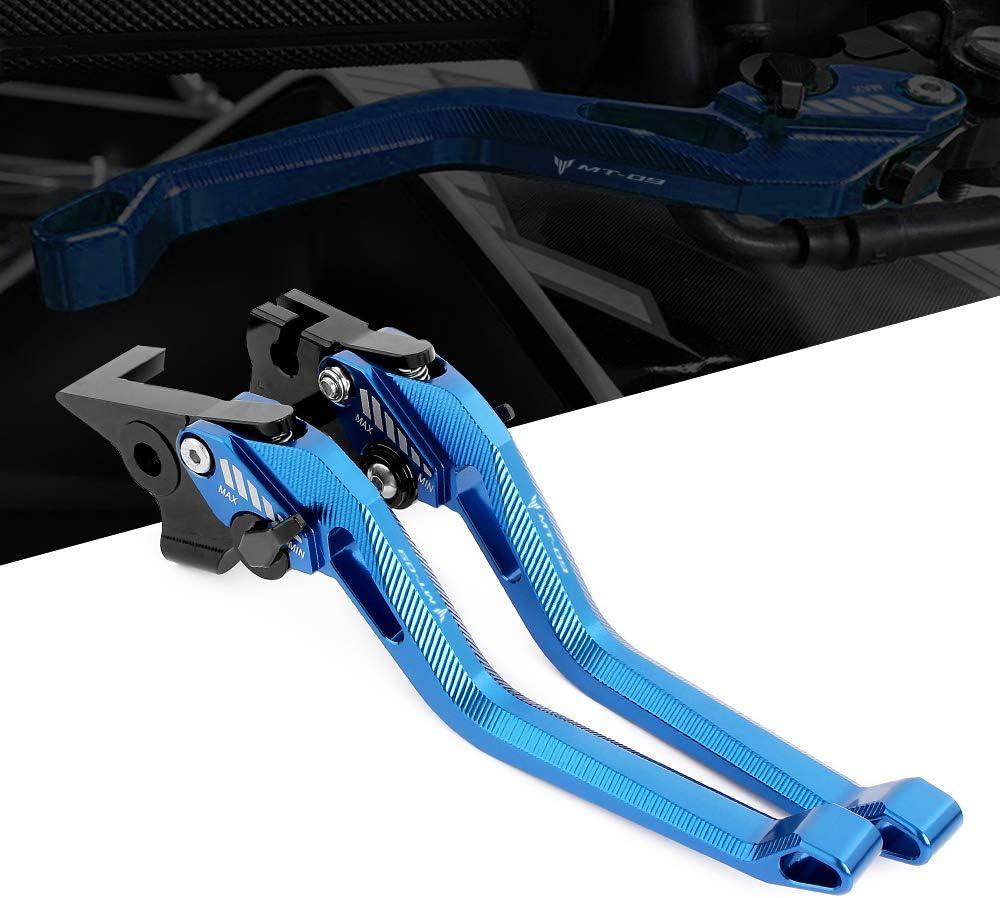 Kit Levier dembrayage et levier de frein Aluminium Usin/é CNC pour Yamaha FZ07 2014-2019