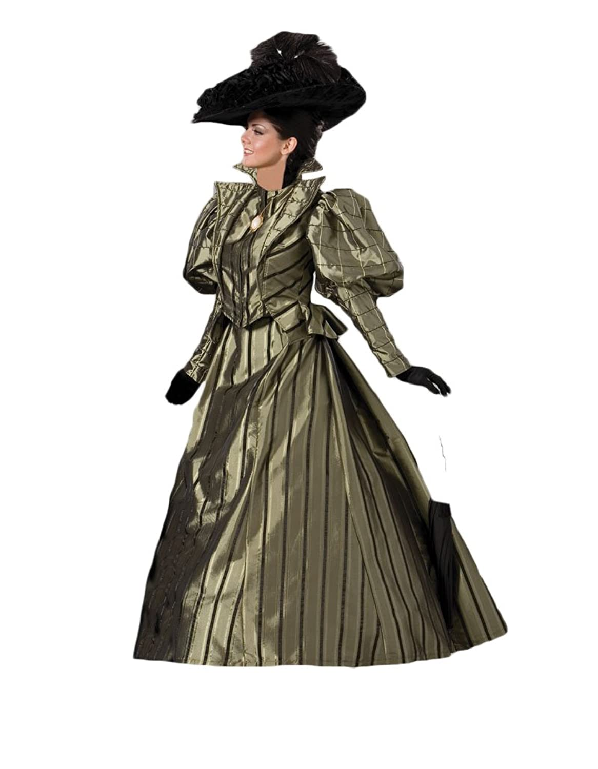 Victorian Costumes: Dresses, Saloon Girls, Southern Belle, Witch Womens Victorian Era Dress Theater Costume $379.99 AT vintagedancer.com