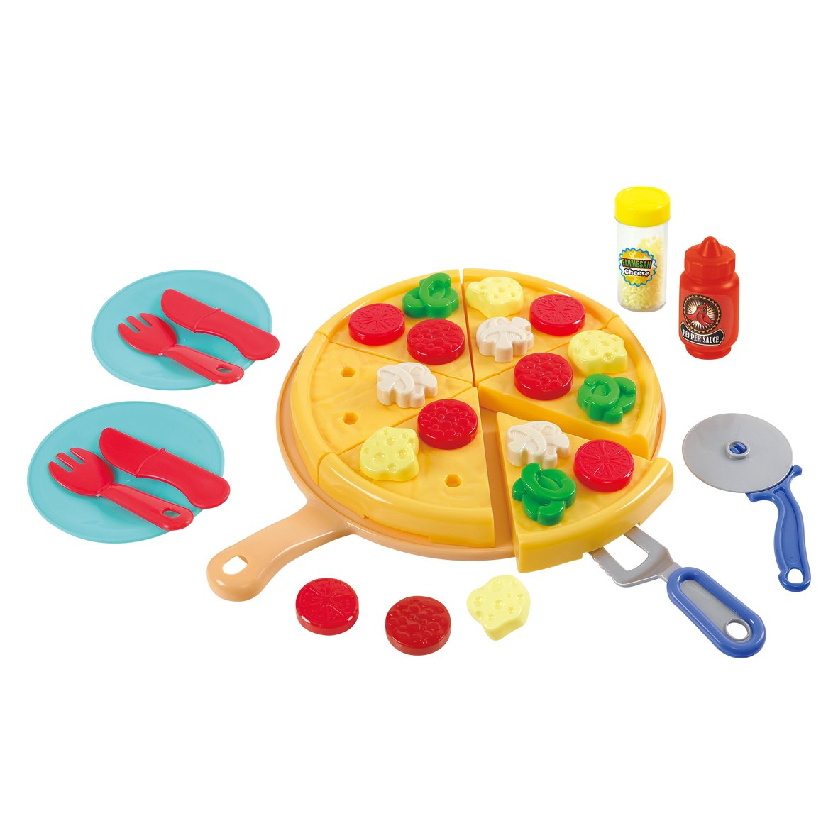PlayGo Make & Serve Pizza Toy Kitchen Products