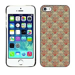 PatternViking PC Polycarbonate Aluminium Back Case Cover Apple iPhone 5 / 5S ( cute flower )
