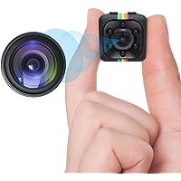 Spy Camera Wireless Mini Hidden Camera DZFtech HD 1080P Portable Small Nanny Cam with Motion Detection Night Vision…