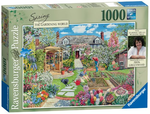 1000 Piece Gardening World Spring Puzzle