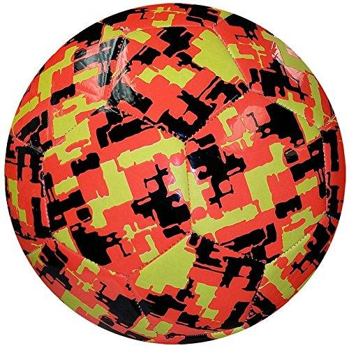American Challenge Camo Hex Soccer Ball (Tangerine/Lemon/Black, 4)