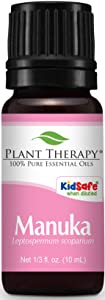 Plant Therapy Manuka Essential Oil 10 mL (1/3 oz) 100% Pure, Undiluted, Therapeutic Grade