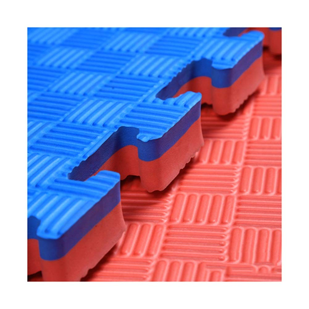 MAHFEI ジョイントマットフロアマット テコンドーホール 増粘 高密度 強い靭性 バッファーの削減 クリアな質感 より滑りにくい 両面使用 EVA、 (Color : B, Size : 12PCS) B 12PCS