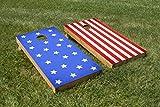 2 Piece Stars and Stripes Cornhole Board Set