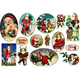 Carta di riso Babbo Natale Christmas Whishes - Stamperia DFS231