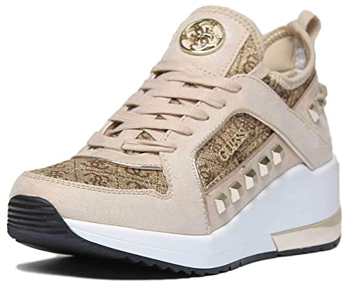 design senza tempo 5996d 0d6b2 Guess FL5JULFAL12 Sneakers Donna Brown 39: Amazon.it: Scarpe e borse