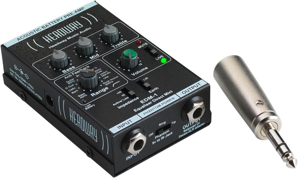 Headway EDM-1 Mini Direct Preamp by Headway